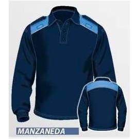POLO POLICIA MANGA LARGA MANZANEDA
