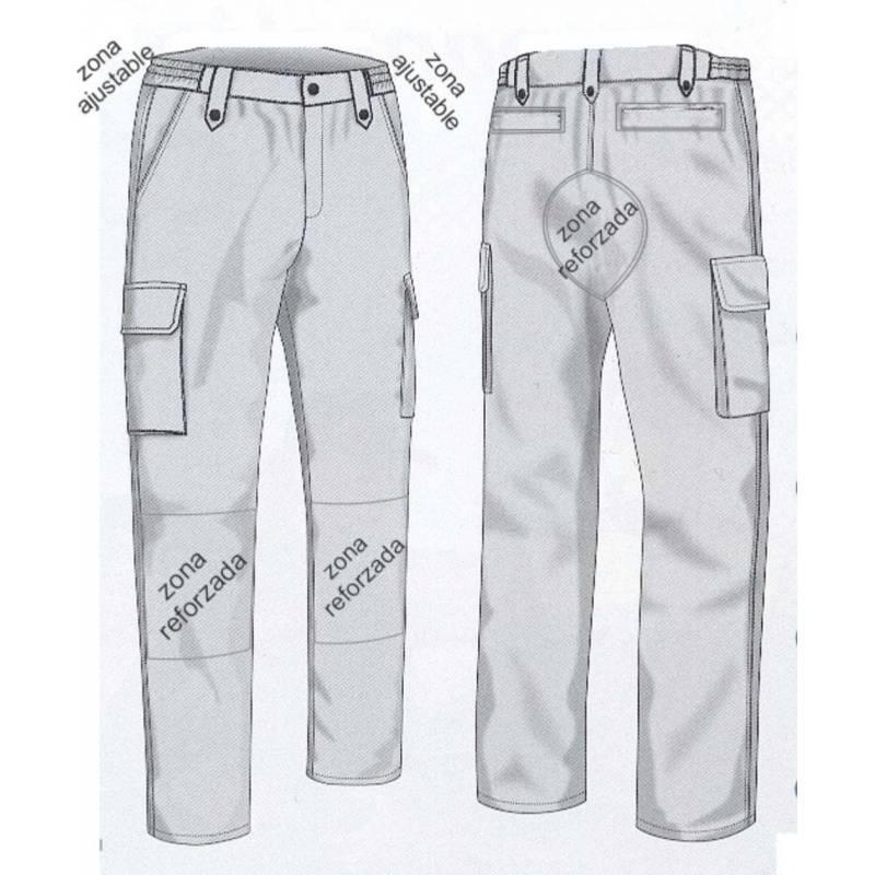 Pantalon Tactico Chester Mossos