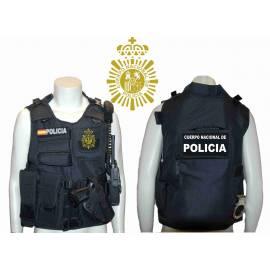 CHALECO BARBARIC FORCE PILKERTON II NEGRO POLICIA NACIONAL