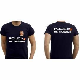 CAMISETA POLICIA PAISANO