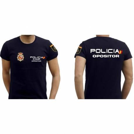 CAMISETA POLICIA OPOSITOR