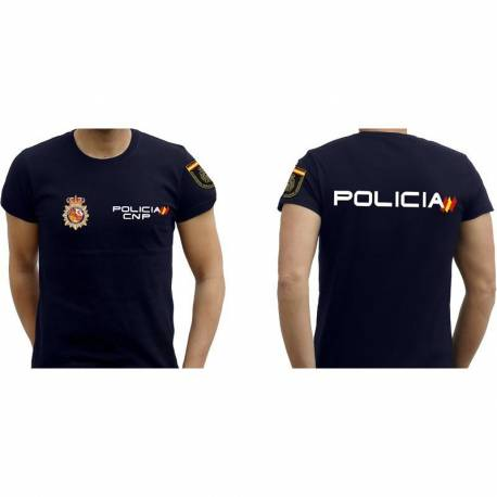 CAMISETA POLICIA NACIONAL CNP