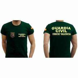 CAMISETA USECIC VALENCIA GUARDIA CIVIL