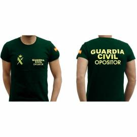 CAMISETA OPOSITOR GUARDIA CIVIL