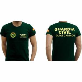 CAMISETA GUIAS CANINOS GUARDIA CIVIL