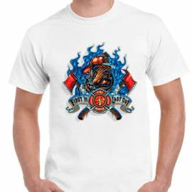 CAMISETA FIRE RESCUE