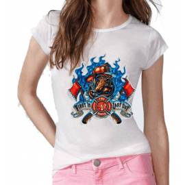 CAMISETA MUJER FIRE RESCUE