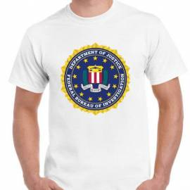 CAMISETA FBI ESTADOS UNIDOS