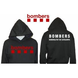 SUDADERA CON CAPUCHA BOMBERS CATALUNYA