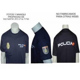 CAMISETA CUERPO POLICIA NACIONAL