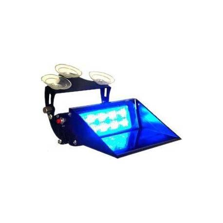 Lanza-destello LED AZUL para SALPICADERO/PARABRISAS