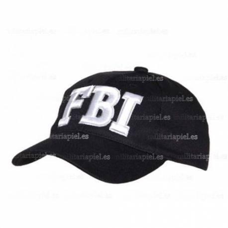 GORRA BORDADA FBI (OFICINA FEDERAL DE INVESTIGACION)