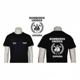 CAMISETA BOMBEROS UNIDOS ESPAÑA