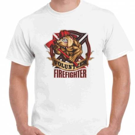 CAMISETA BOMBERO VOLUNTARIO
