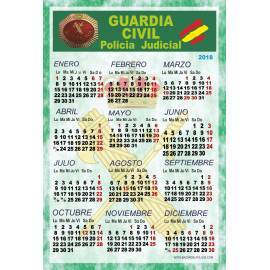 CALENDARIO 2018 GUARDIA CIVIL POLICIA JUDICIAL