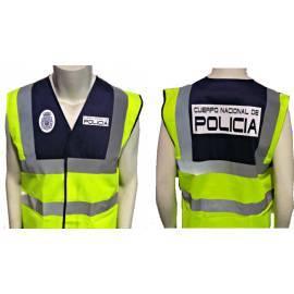 CHALECO REFLECTANTE POLICIA NACIONAL