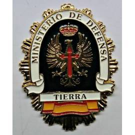 PLACA MINISTERIO DEFENSA TIERRA