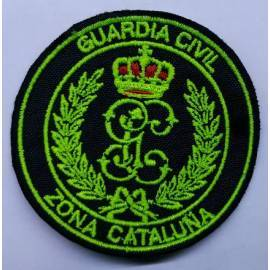 PARCHE BORDADO GUARDIA CIVIL ZONA CATALUÑA