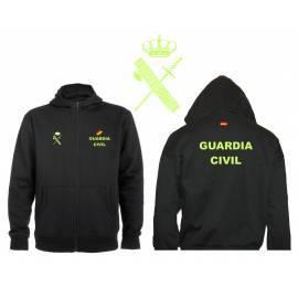 SUDADERA CAPUCHA Y CREMALLERA GUARDIA CIVIL