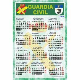 CALENDARIO 2019 GUARDIA CIVIL INFORMACION