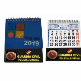 CALENDARIO SOBREMESA 2019 GC POLICIA JUDICIAL