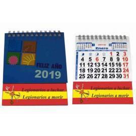 CALENDARIO SOBREMESA 2019 LEGIONARIOS