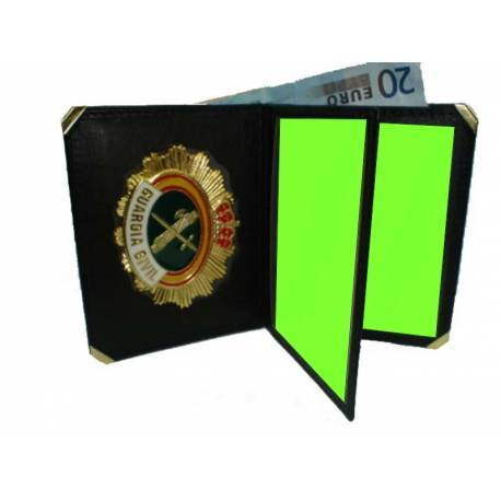CARTERA LIBRO GUARDIA CIVIL (PLACA INCLUIDA)