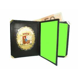 CARTERA LIBRO SEGURIDAD PRIVADA (PLACA INCLUIDA)