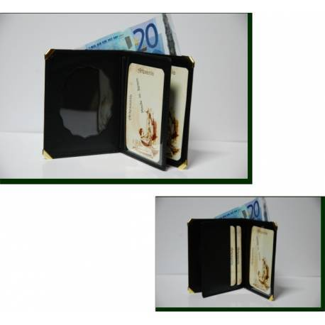 Cartera Portaplaca Proteccion Civil Tipo Libro