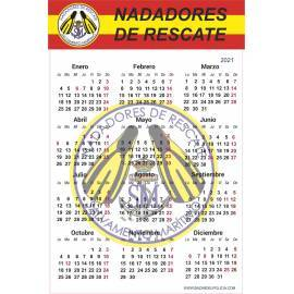 CALENDARIO ADHESIVO 2021 NADADORES DE RESCATE