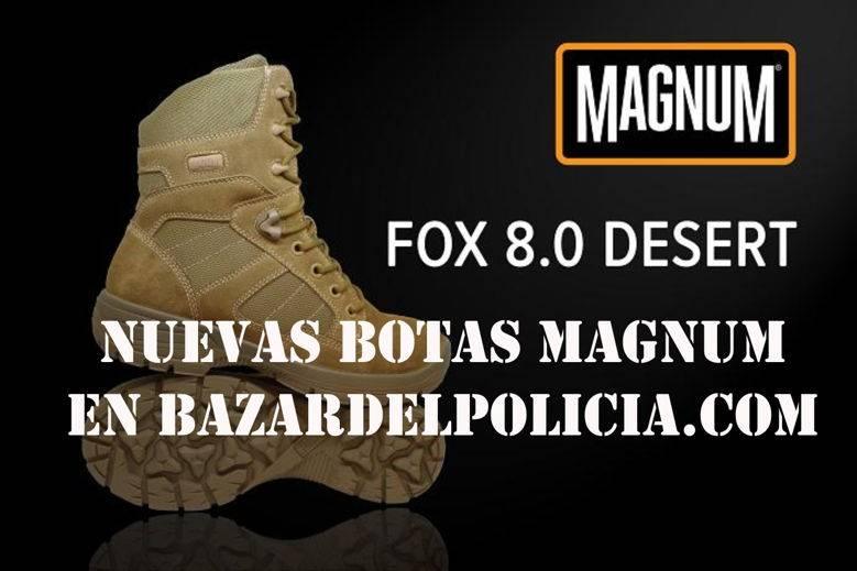 Nuevas botas Magnum Fox