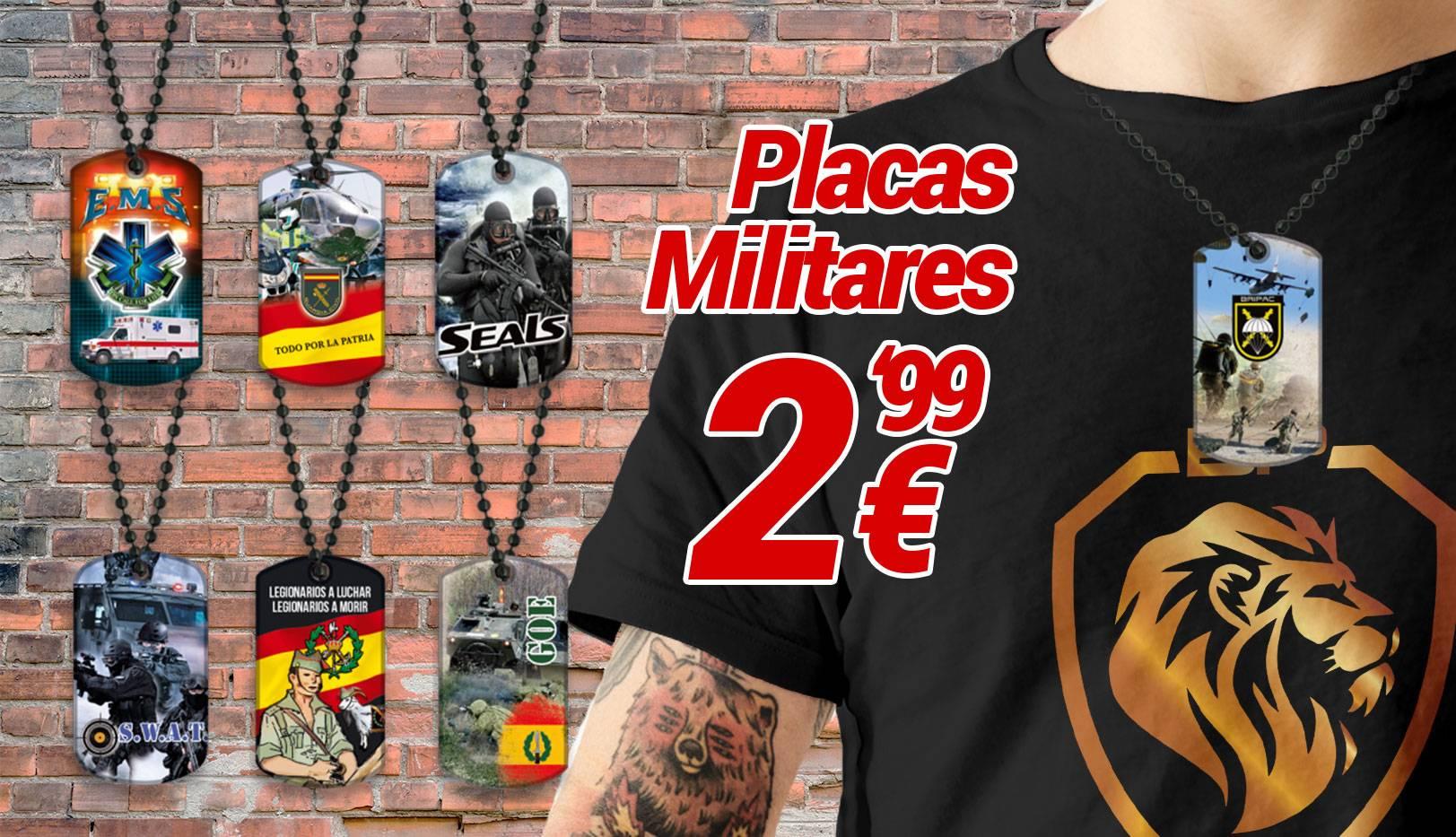 Placas Militares